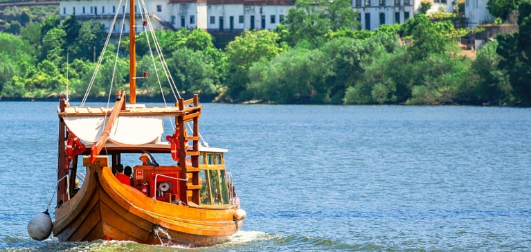 The Rabelo boats invite you to sail the time-away waters of the Douro River!
